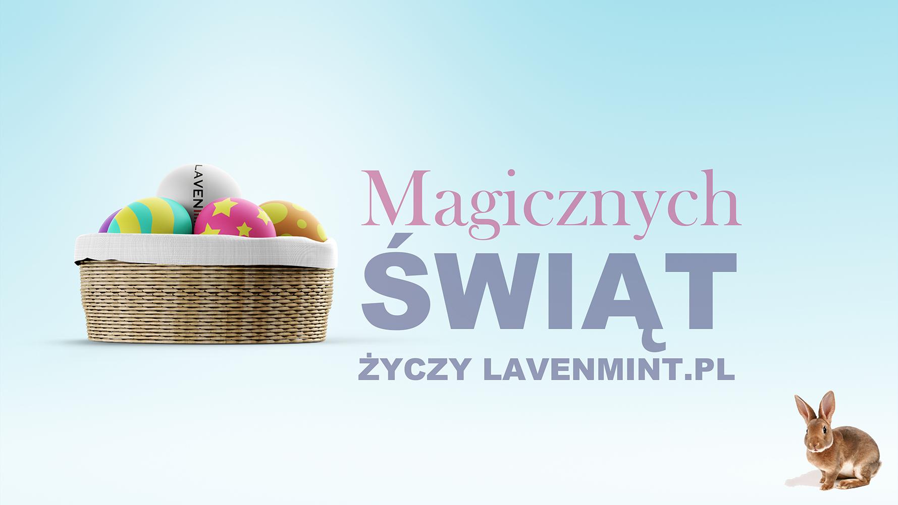 Magicznych Świąt życzy załoga Lavenmint.pl